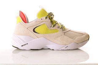 Foto van Arkk Kanetyk El3802-1137-M Sneakers Off White Neon Lime
