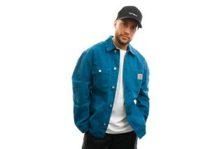 Foto van Carhartt Jas Michigan Coat Moody Blue I024849
