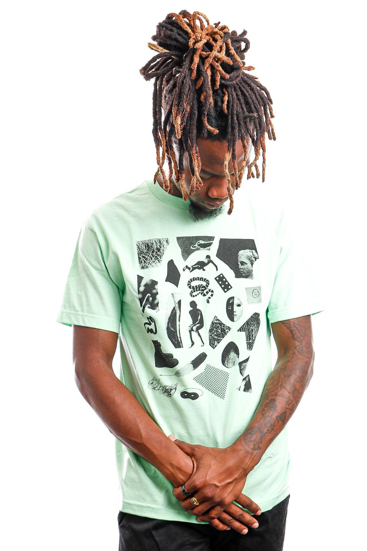 Afbeelding van Quiet Life T-shirt QUIET LIFE HOECKEL S/S TEE MINT XL Mint QL-19SPD2-2114