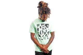 Foto van Quiet Life T-shirt QUIET LIFE HOECKEL S/S TEE MINT XL Mint QL-19SPD2-2114