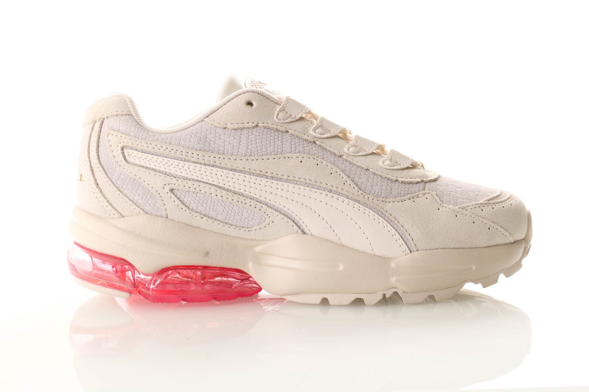 Afbeelding van Puma Cell Stellar Tonal Wn S 370951 01 Sneakers Marshmallow-Puma Team Gold