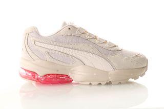 Foto van Puma Cell Stellar Tonal Wn S 370951 01 Sneakers Marshmallow-Puma Team Gold