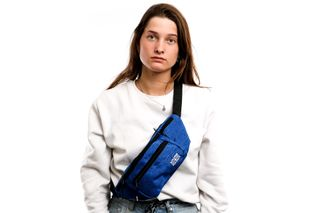 Foto van Go-Britain Compartment Gbb01 Fanny Pack (Heuptas) Cobalt