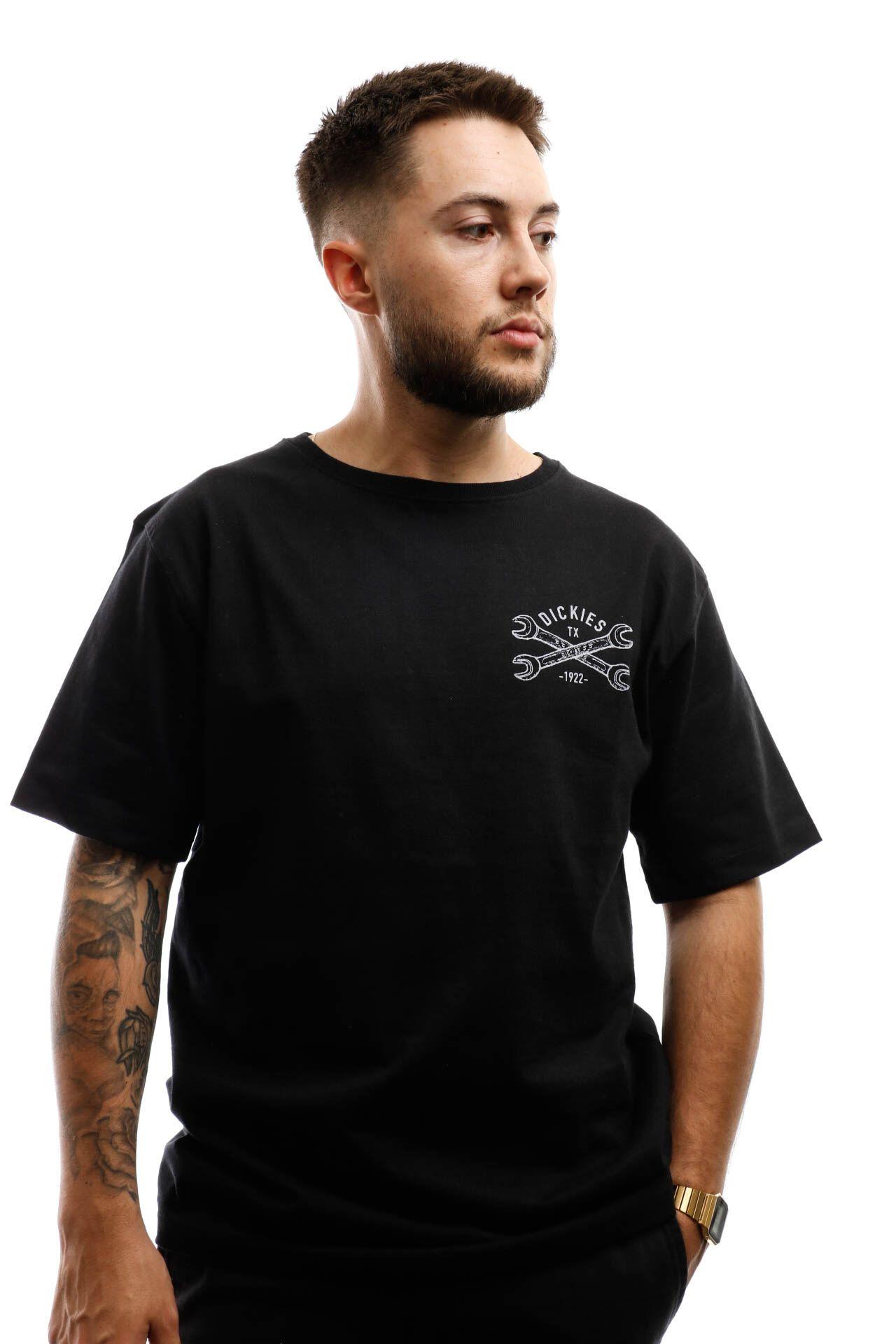 Afbeelding van Dickies T-shirt Slidell T-Shirt Black DK0A4X6UBLK1
