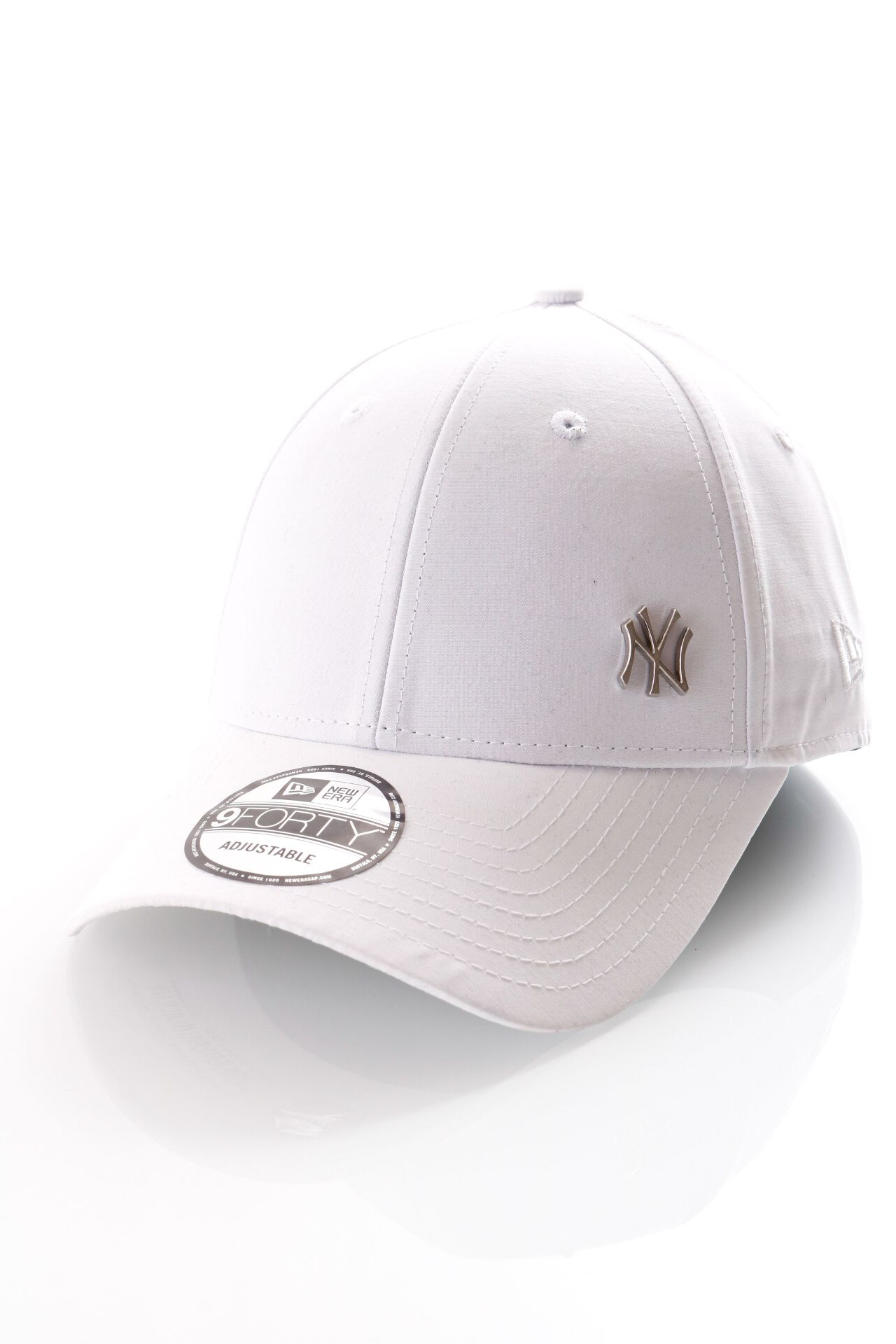 Afbeelding van New Era Dad Cap MLB Flawless Logo Basic 940 Neyyan white 11209938