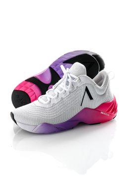 Afbeelding van Arkk Sneakers Avory Mesh W13 White-Bright Pink 4906-0010