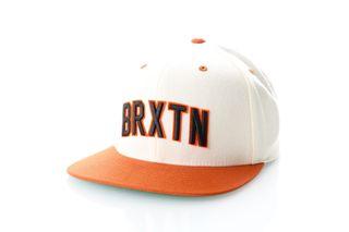 Foto van Brixton Snapback Cap Hamilton Snapback White/Burnt Orange 299