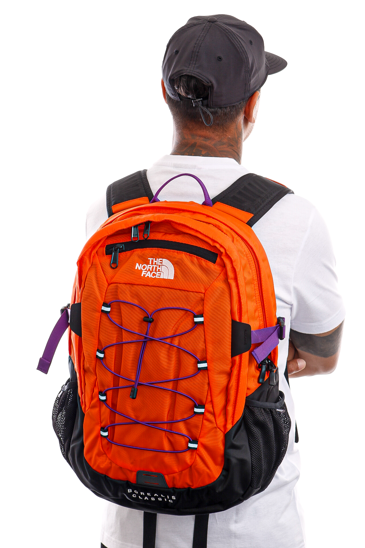 Afbeelding van The North Face Rugzak Borealis Classic RDORNG/GRVTYP NF00CF9C2101