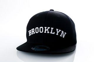 Foto van Ethos Brooklyn Kbn-500Bn Black/Black/White Kbn-500Bn Dad Cap Black/Black/White