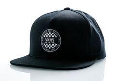 Afbeelding van Vans Snapback Cap Mn Og Checker Snapback Black VN0A45FGBLK1