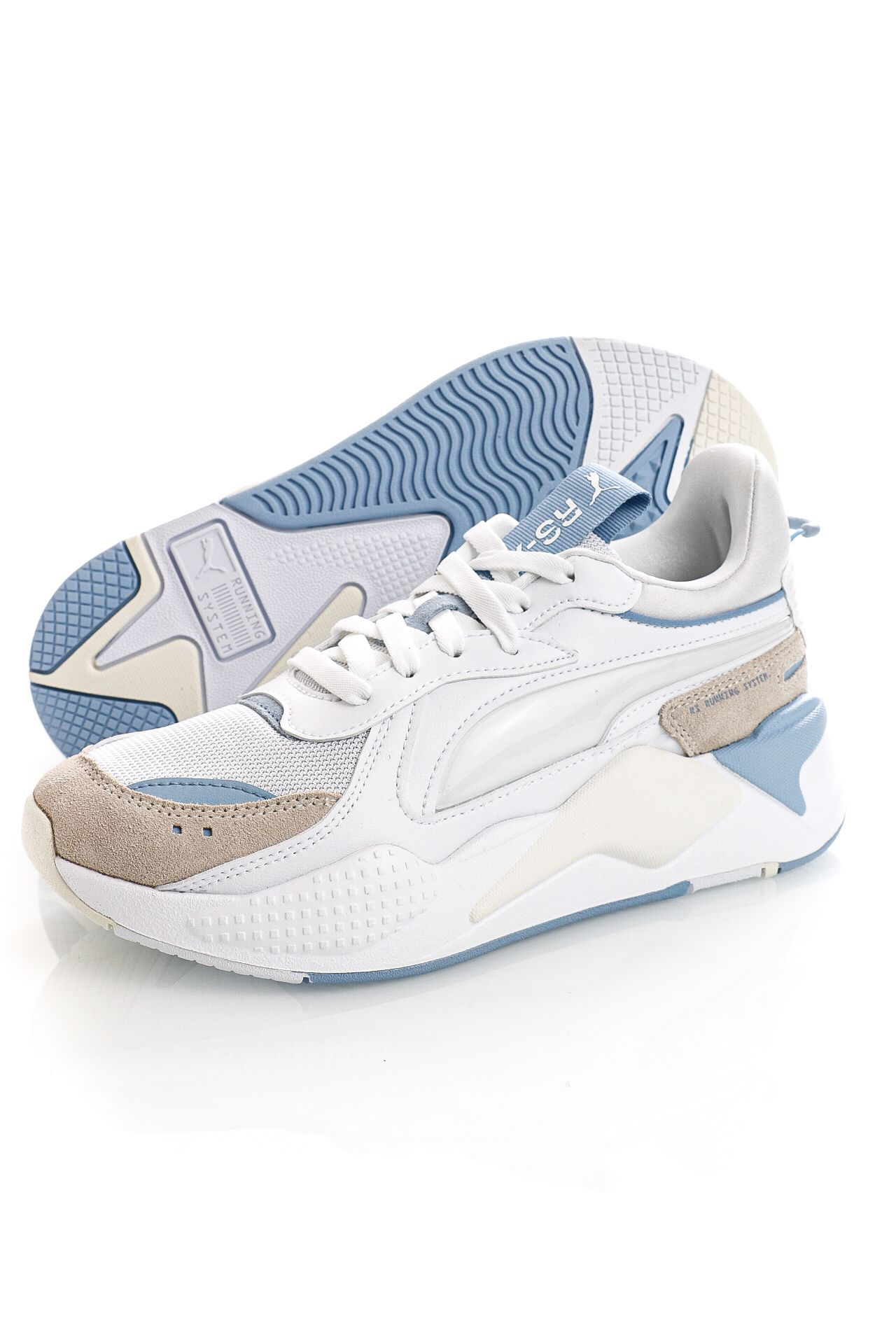 Afbeelding van Puma Sneakers RS-X Bubble Wn's Puma White-Forever Blue 380460302
