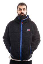 Tommy Hilfiger Jacket Tjm Sherpa Zip Thru Black DM0DM09863