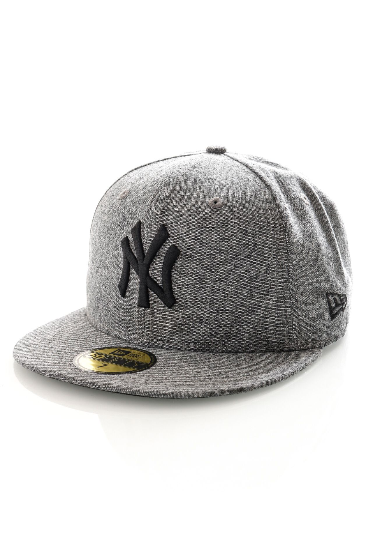 Afbeelding van New Era Fitted Cap Chambray 59Fifty Black 12490312
