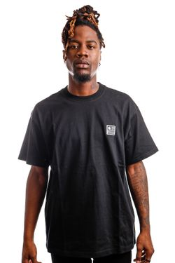 Afbeelding van Carhartt T-shirt S/S Label State Black I029658