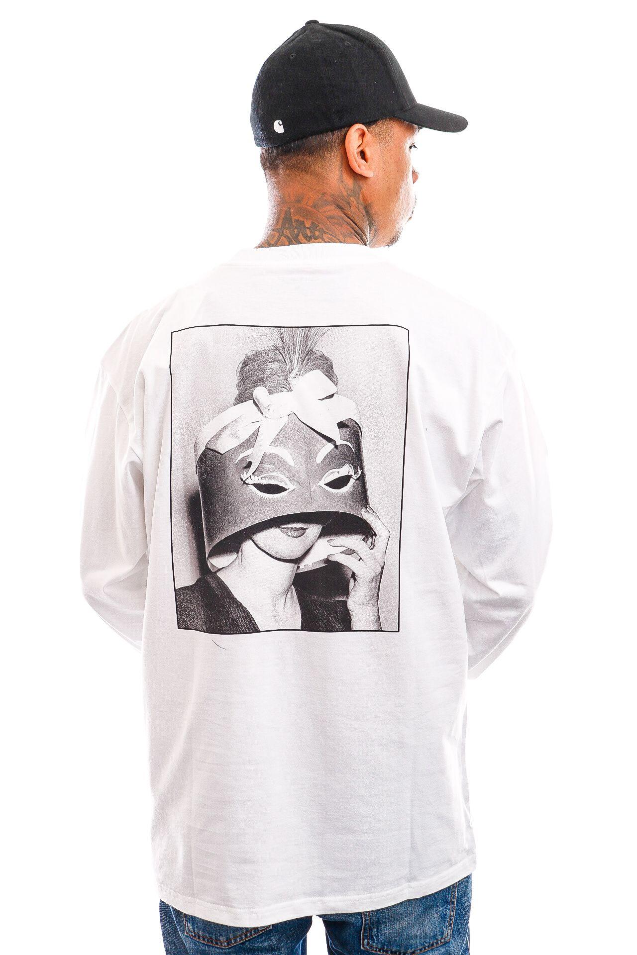 Afbeelding van Carhartt Longsleeve L/S Smile T-Shirt White I029939