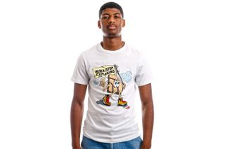 Foto van The North Face T-shirt M S/S GRAPHIC TEE Tnf White NF0A4T1IFN41