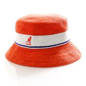 Kangol Bucket Bermuda Stripe Bucket Fiery Orange K3326ST