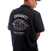 Carhartt Blouse S/S Cartograph Shirt Black I028806