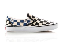 Afbeelding van Vans Sneakers Ua Classic Slip-On (Big Check) Black/Navy VN0A4U38WRT1