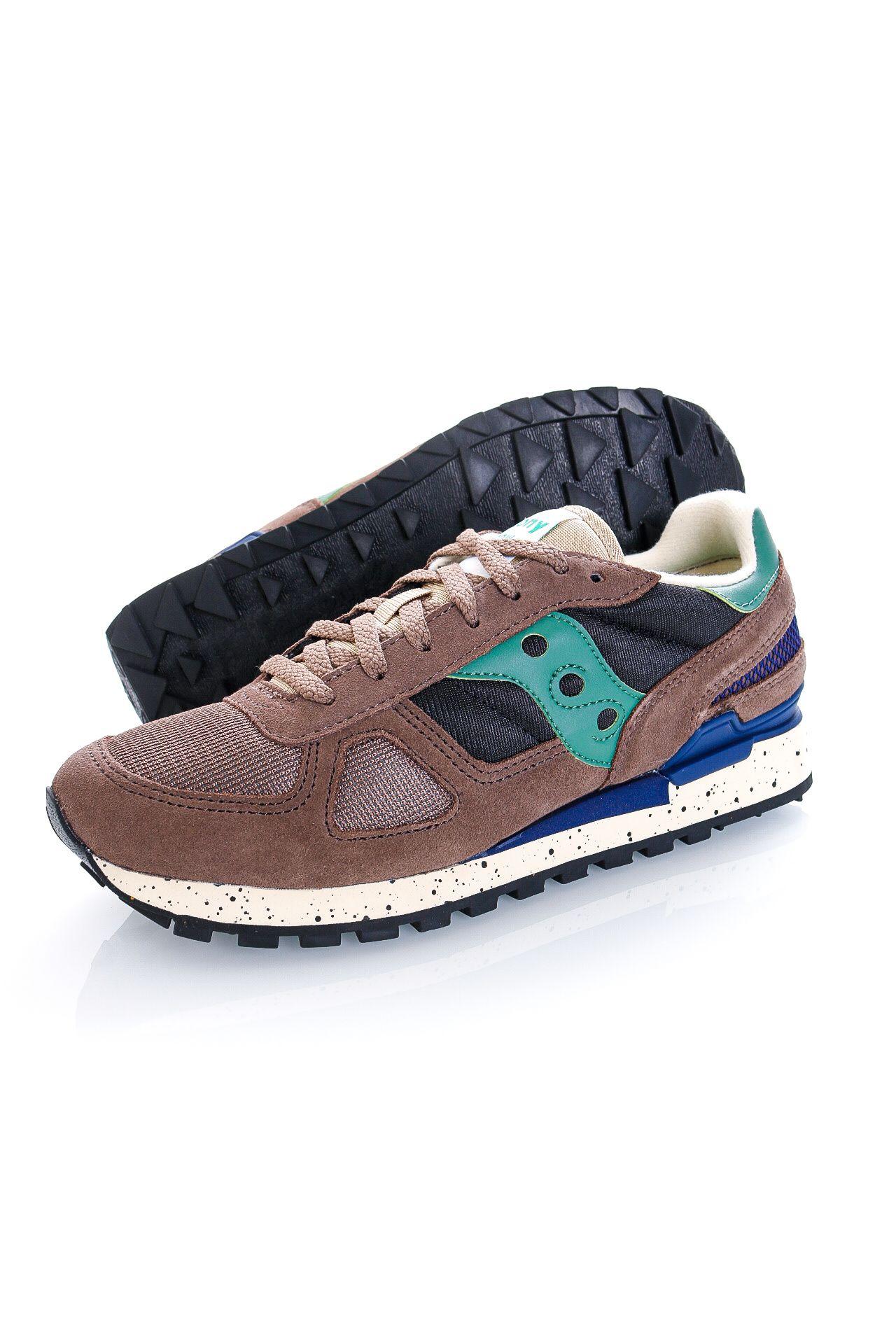 Afbeelding van Saucony Sneakers Shadow Original Brown/Black/Green S2108-792