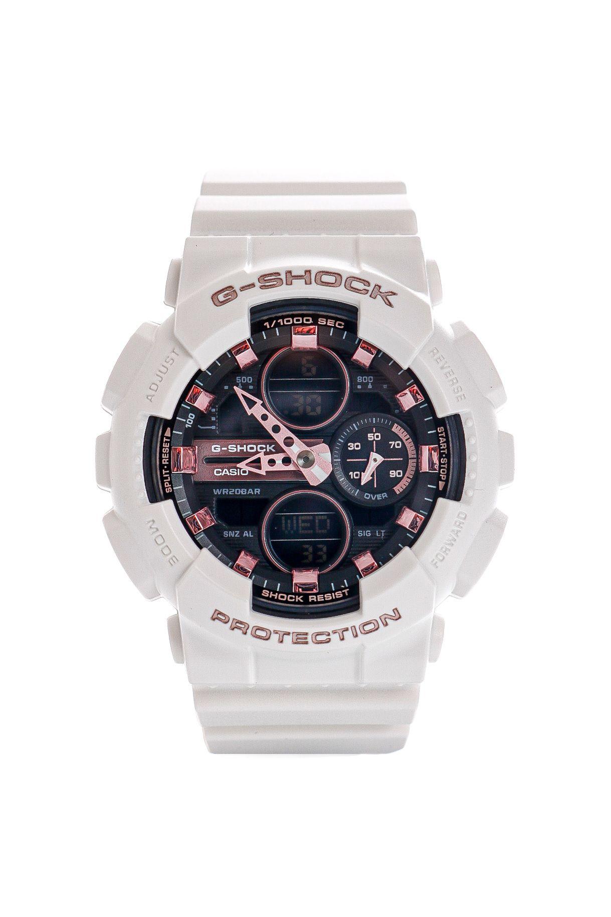 Afbeelding van Casio Horloge G-SHOCK GMA-S140M White/Pink
