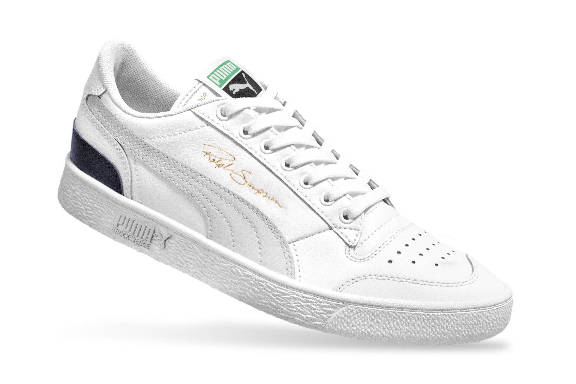 Afbeelding van Puma Ralph Sampson Low Og 370719 01 Sneakers Puma White-Gray Violet-Peacoat April