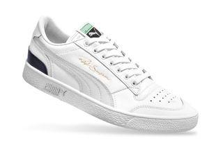 Foto van Puma Ralph Sampson Low Og 370719 01 Sneakers Puma White-Gray Violet-Peacoat April
