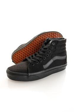 Afbeelding van Vans Sneakers UA Sk8-Hi Black/Black/Black VN000TS9BJ41