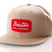 Brixton Jolt Snapback 491 Snapback Cap Khaki