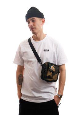 Afbeelding van Carhartt Wip Essentials Bag I006285 Schoudertas Camo Laurel