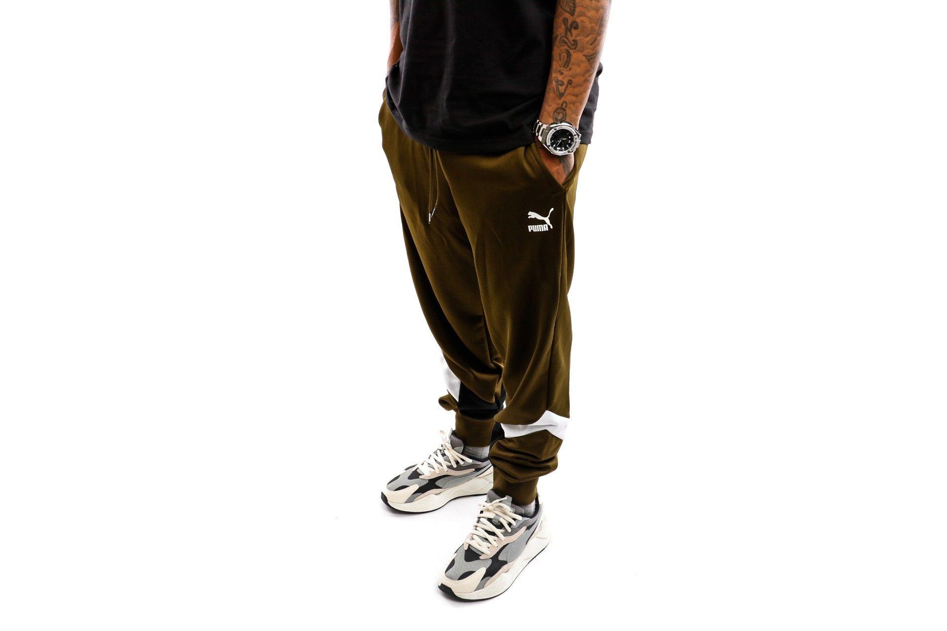 Afbeelding van Puma Trackpant Iconic Mcs Track Pants Pt Dark Olive 596445 48
