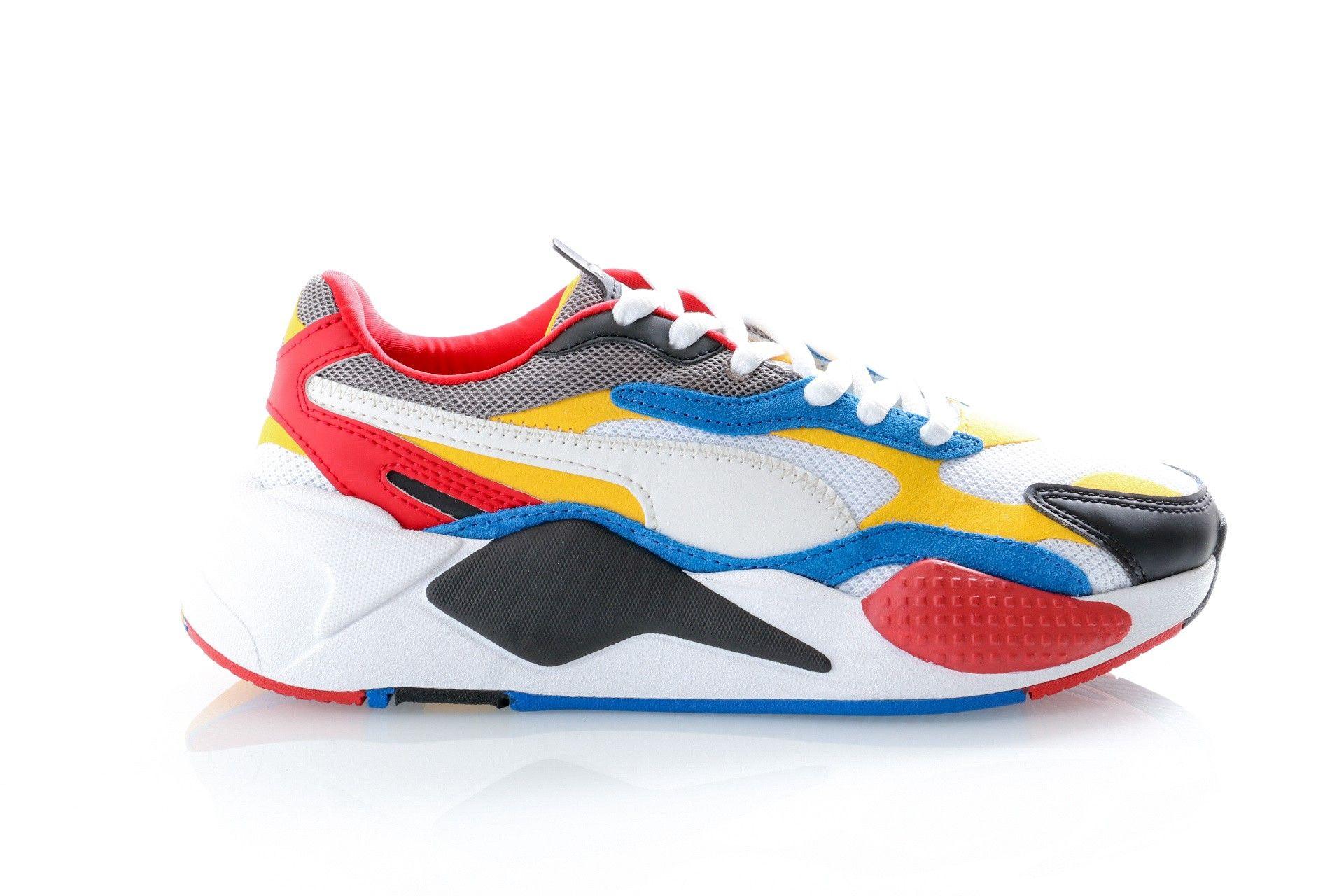 Afbeelding van Puma Sneakers Rs-X³ Puzzle Puma White-Spectra Yellow-Puma Black 371570 04