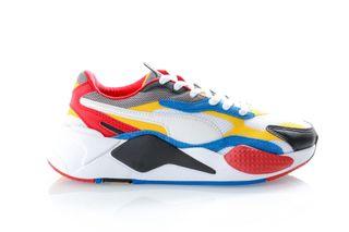 Foto van Puma Sneakers Rs-X³ Puzzle Puma White-Spectra Yellow-Puma Black 371570 04