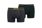 Afbeelding van Levi`S Bodywear Vintage Heather Boxer Brief 2P 995053001 Boxershort Navy
