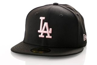 Foto van New Era Fitted Cap Los Angeles Dodgers League Essential 59Fifty 12040448