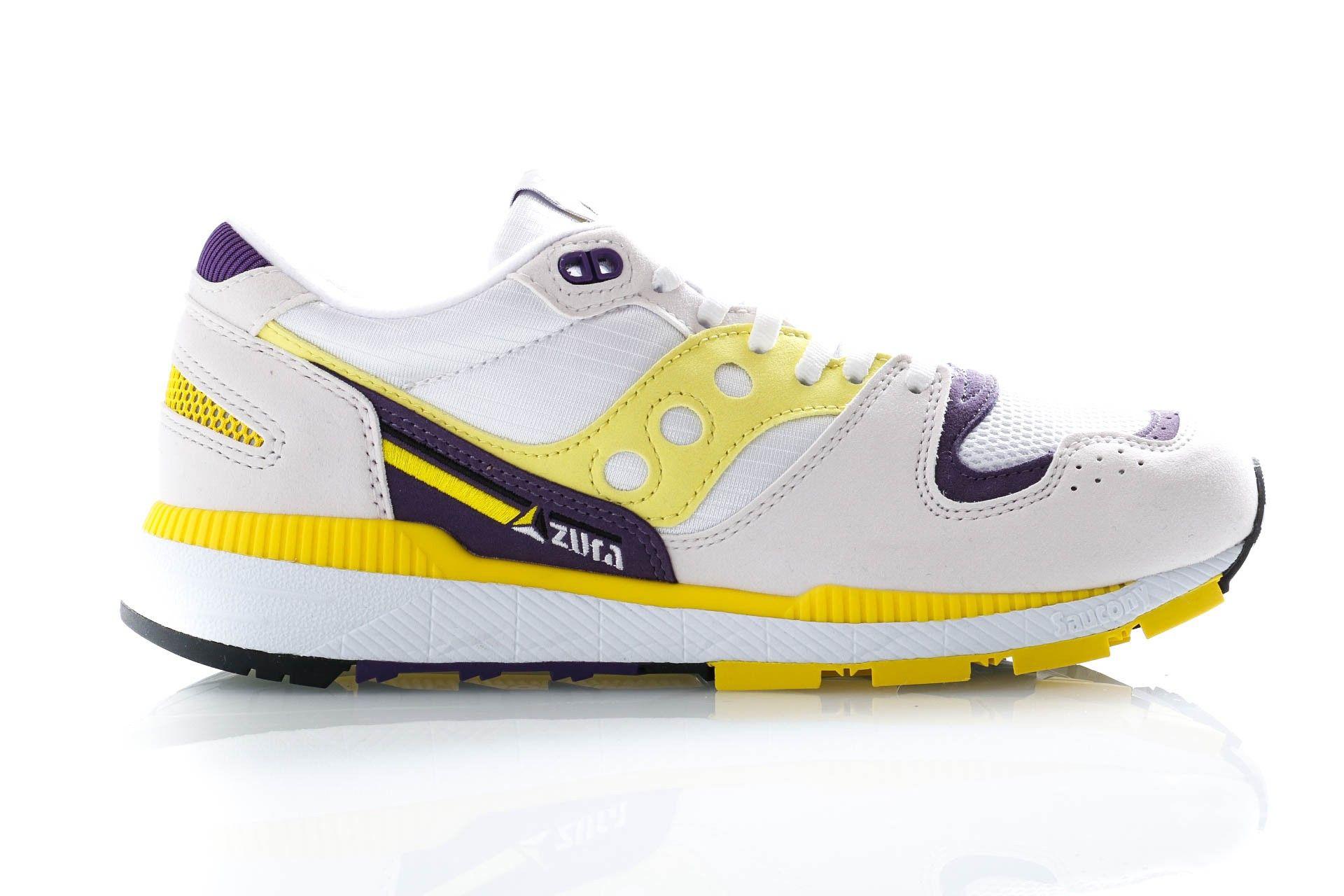 Afbeelding van Saucony Sneakers Azura White/Blazing Yellow/Indigo S70437-34