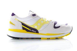 Foto van Saucony Sneakers Azura White/Blazing Yellow/Indigo S70437-34