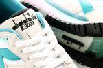 Afbeelding van Diadora N9002 501173073 Sneakers White/Biscay Bay
