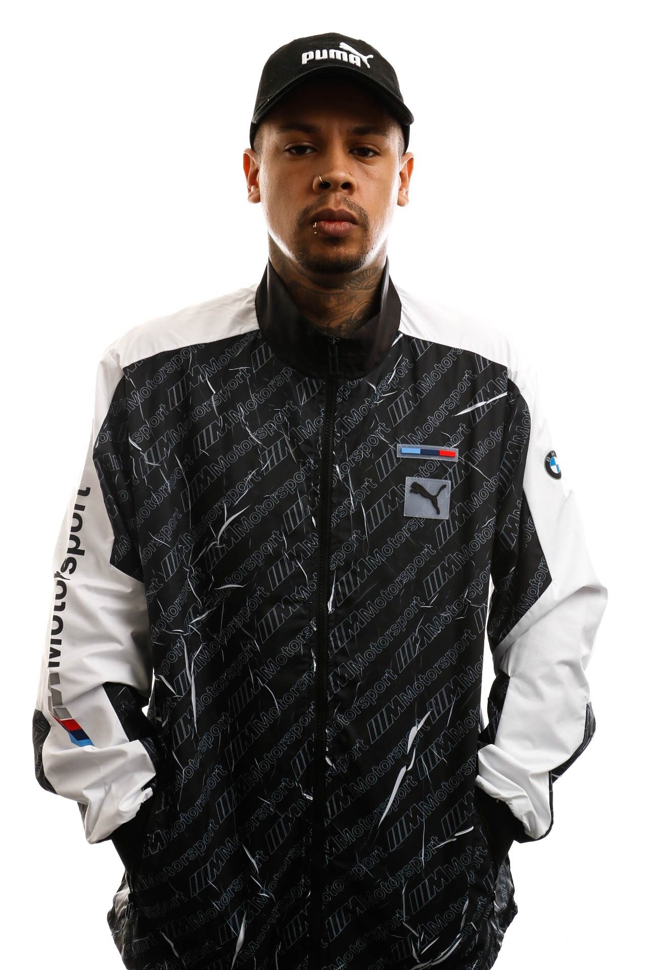Afbeelding van Puma Trackjacket Bmw Mms Street Jacket Puma Black 596078 01