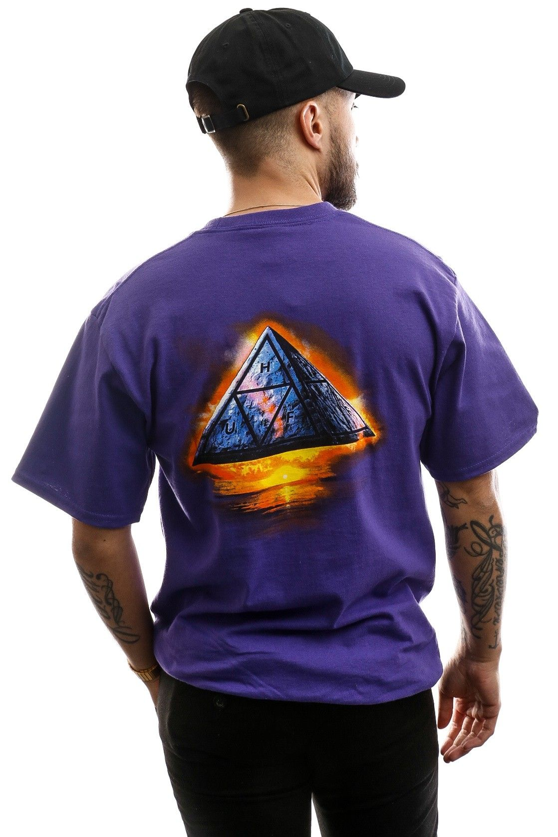 Afbeelding van HUF T-shirt Ancient Aliens S/S Tee Grape TS01009-GRAPE