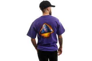 Foto van HUF T-shirt Ancient Aliens S/S Tee Grape TS01009-GRAPE