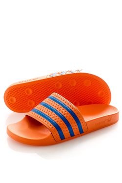 Afbeelding van Adidas Slippers Adilette Amber Tint/Glory Blue/Amber Tint EF5502