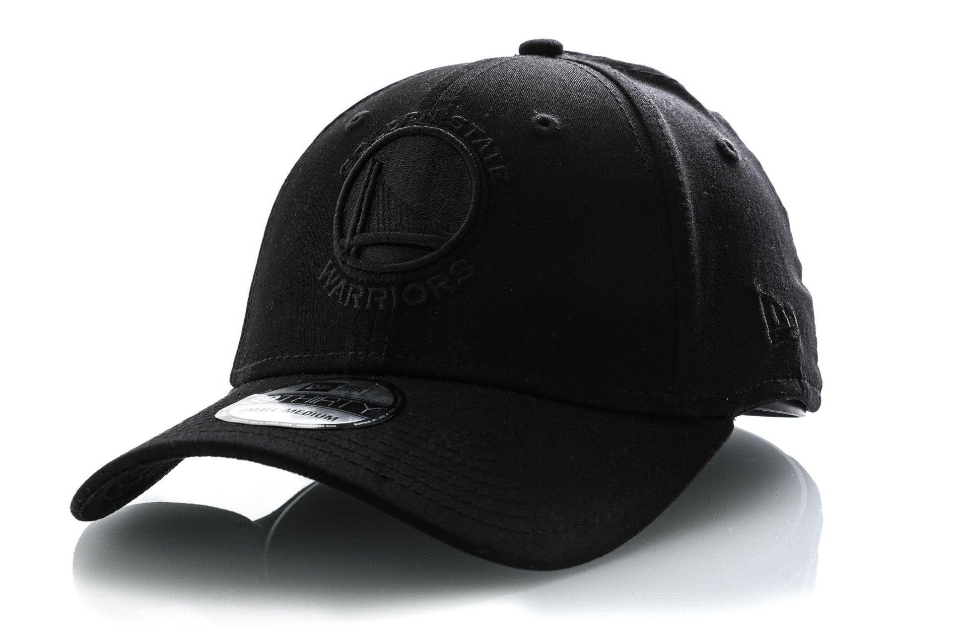 Afbeelding van New Era Dad Cap Golden State Warriors BLACK ON BLACK 39THIRTY GOLDEN STATE WARRIORS 80635950