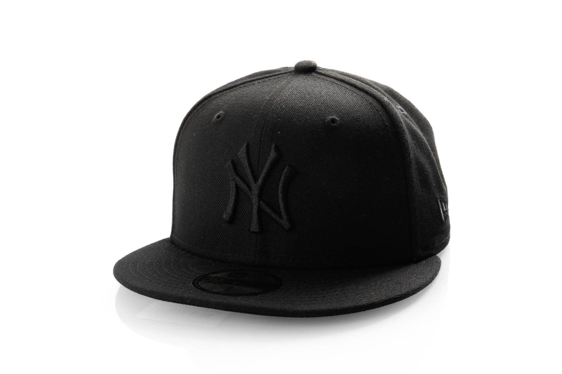 Afbeelding van New Era Fitted Cap New York Yankees Black on black 10000103