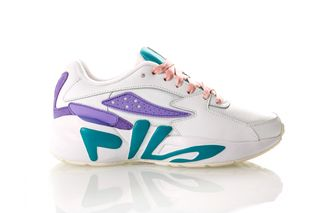 Foto van Fila Mindblower Wmn 1010603 Sneakers White / Carribean Sea