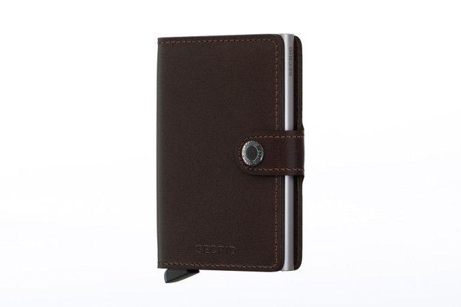 Afbeelding van Secrid M-Dark Brown Wallet Miniwallet Original Dark-Brown