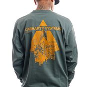 Carhartt Longsleeve L/S Pyramid Eucalyptus / Helios I029622