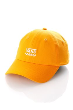 Afbeelding van Vans Dad Cap Wm Court Side Hat Cadmium Yellow VN0A31T6SOE1