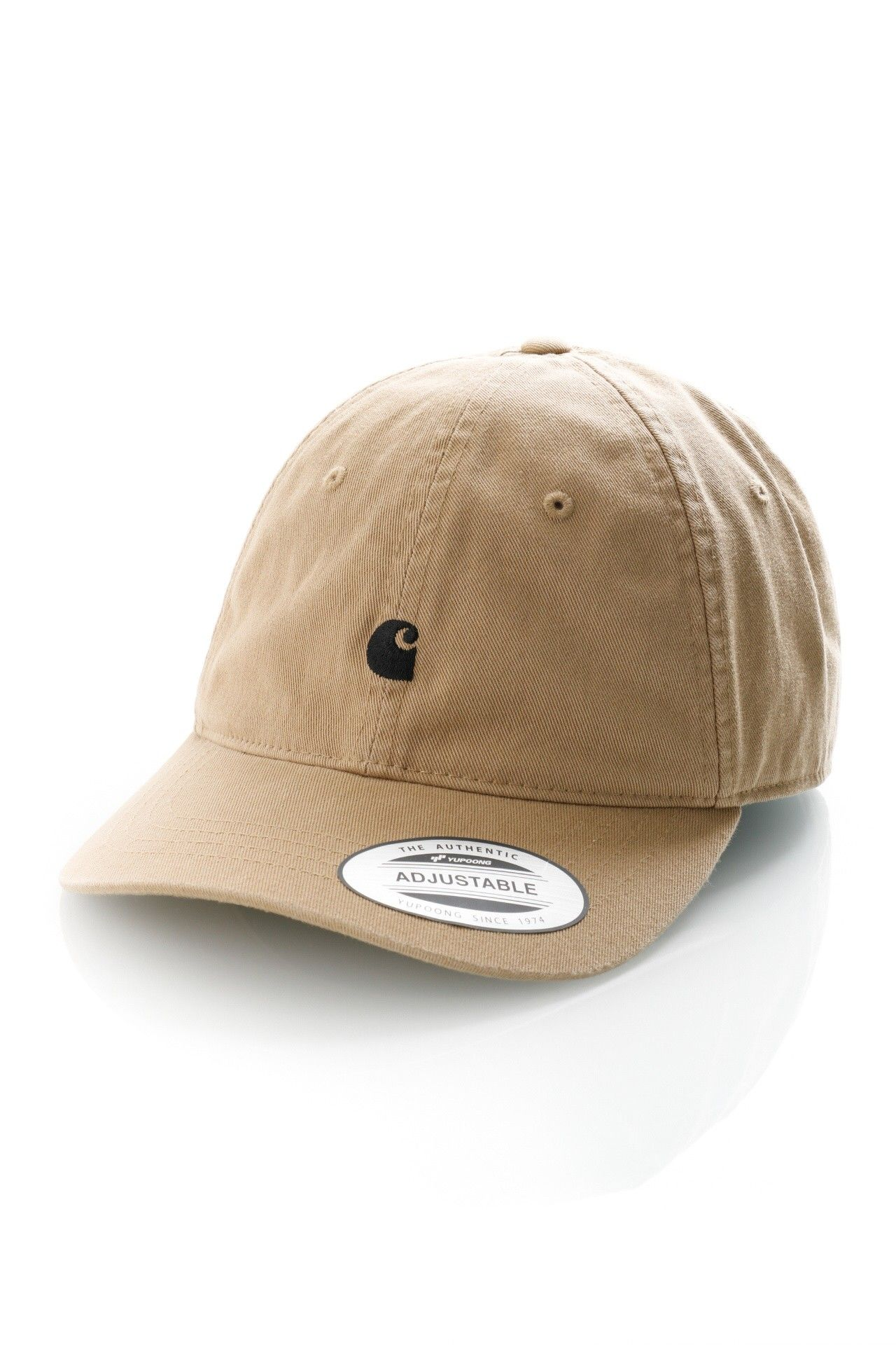 Afbeelding van Carhartt Dad Cap Madison Logo Cap Leather / Black I023750