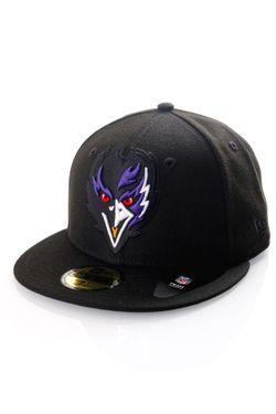 Afbeelding van New Era Fitted Cap Nfl Elements 2.0 Baltimore Ravens Blk 12519955